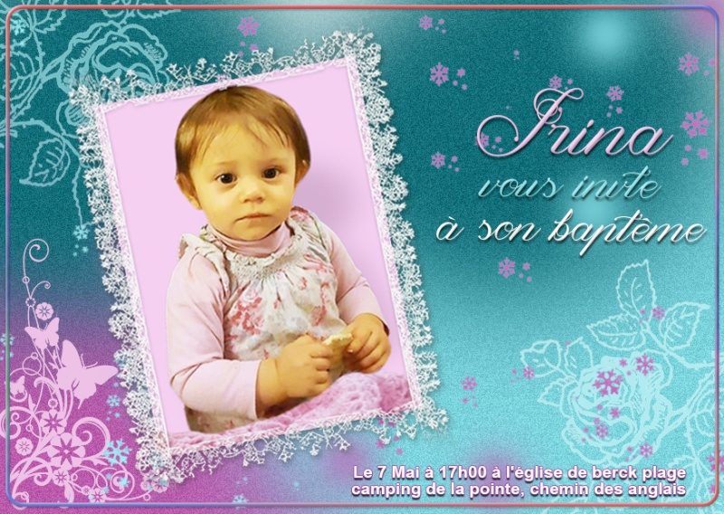 Faire part  Irina13