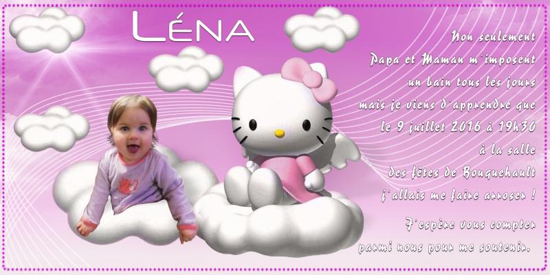 Faire part  Lena10