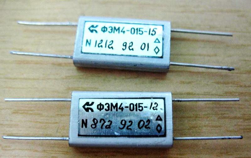 Электромеханические фильтры (ЭМФ, ФЭМ) 410