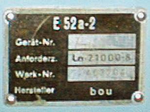 Кельны Е52 52a2la10