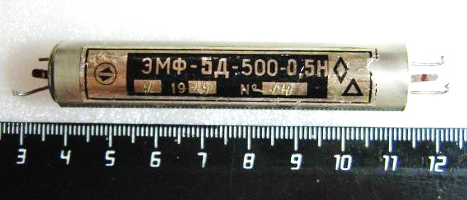 Электромеханические фильтры (ЭМФ, ФЭМ) _110