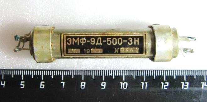 Электромеханические фильтры (ЭМФ, ФЭМ) _410