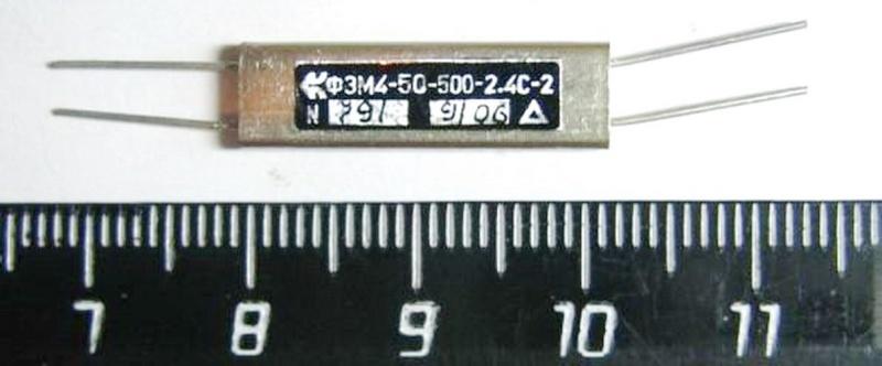 Электромеханические фильтры (ЭМФ, ФЭМ) _500_110