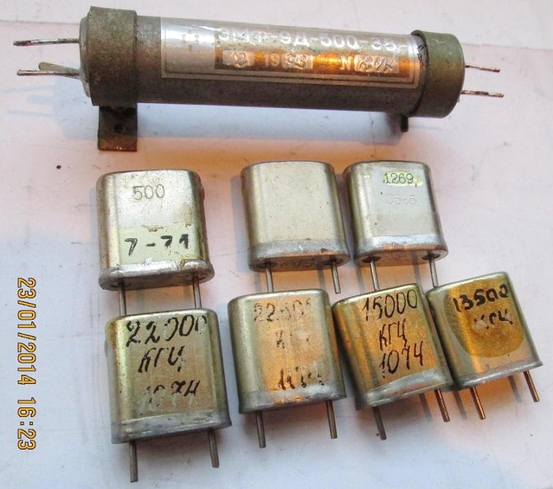 Электромеханические фильтры (ЭМФ, ФЭМ) _a_eua10