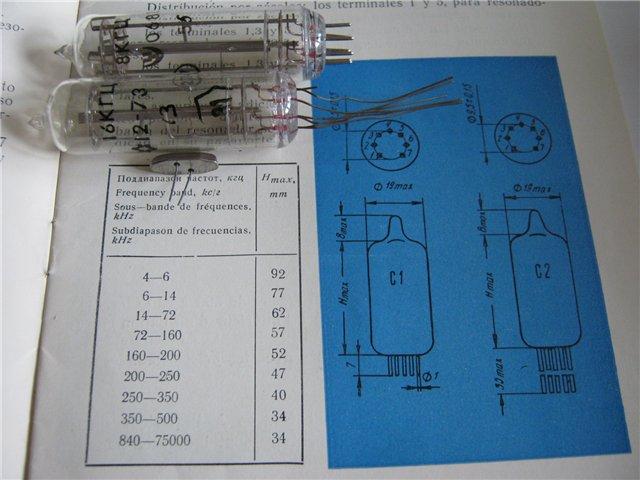 Вакуумированные резонаторы в стеклянных корпусах. Aedi_y10
