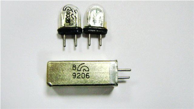 Кварцы в металлических корпусах Б1-Б3, М1-М3 B1d51510