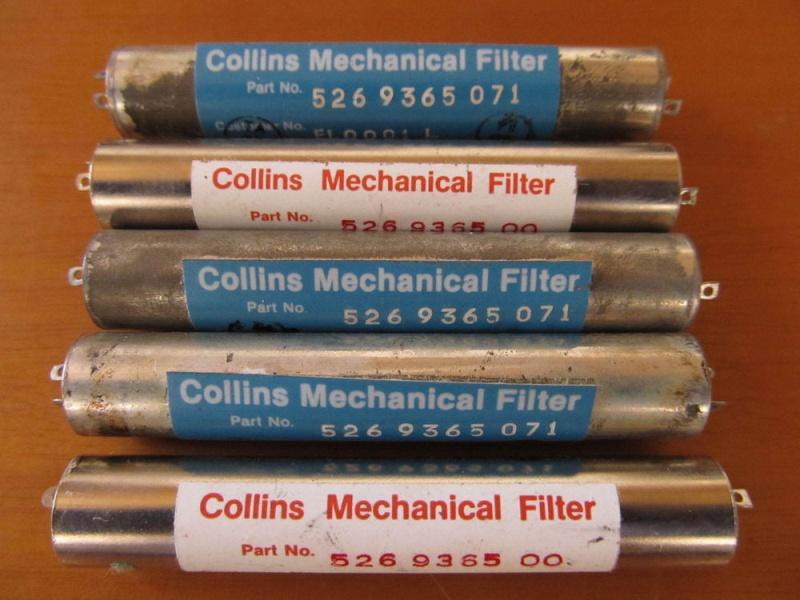 Электромеханические фильтры (ЭМФ, ФЭМ) Collin10