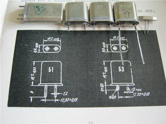 Кварцы в металлических корпусах Б1-Б3, М1-М3 I1-i3_10