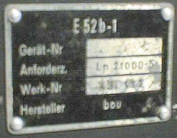 Кельны Е52 Ln210010