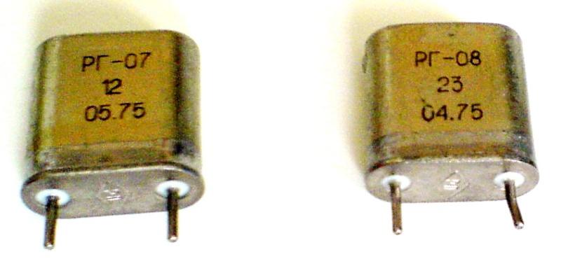 Кварцы в металлических корпусах Б1-Б3, М1-М3 O_eiea10