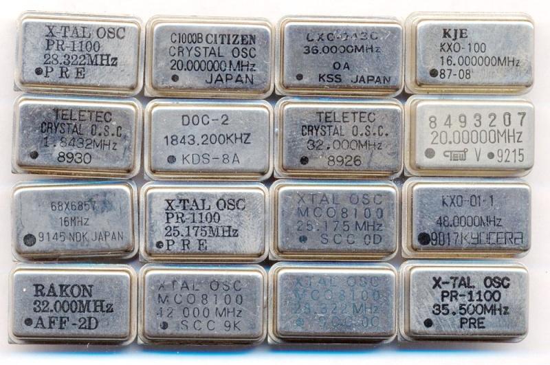 Кварцевые генераторы как готовые изделия Oezeei10