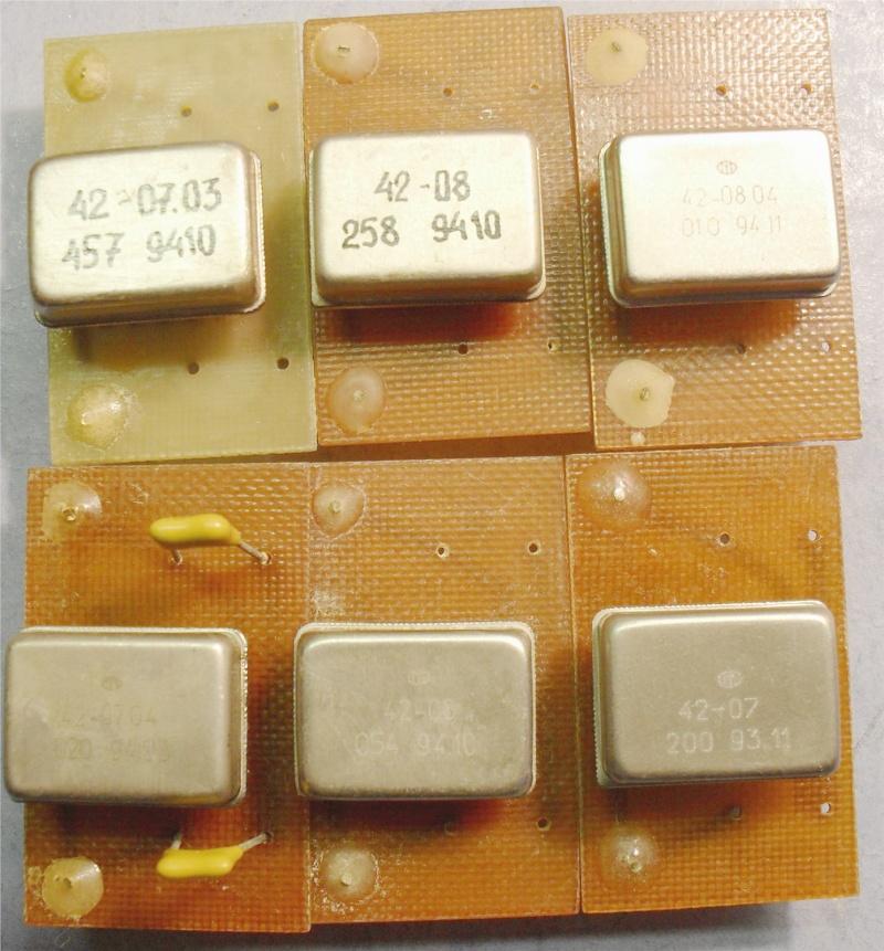 Кварцевые генераторы как готовые изделия Oezeei11