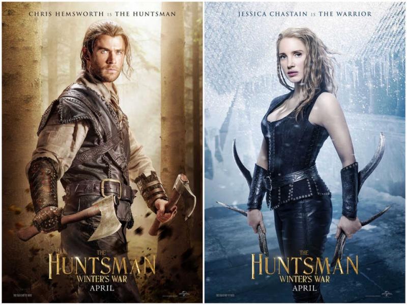 Le Chasseur et la Reine des Glaces Huntsm10