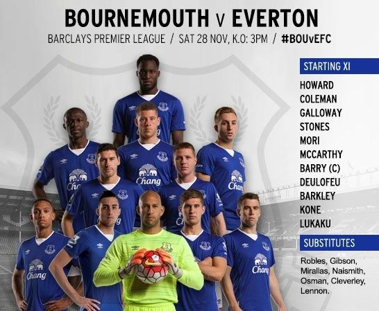 Bournemouth v Everton Untitl10