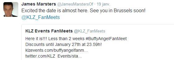 BuffyAngel Fanmeet [Fin janvier 2016 - Bruxelles] - Page 4 James12