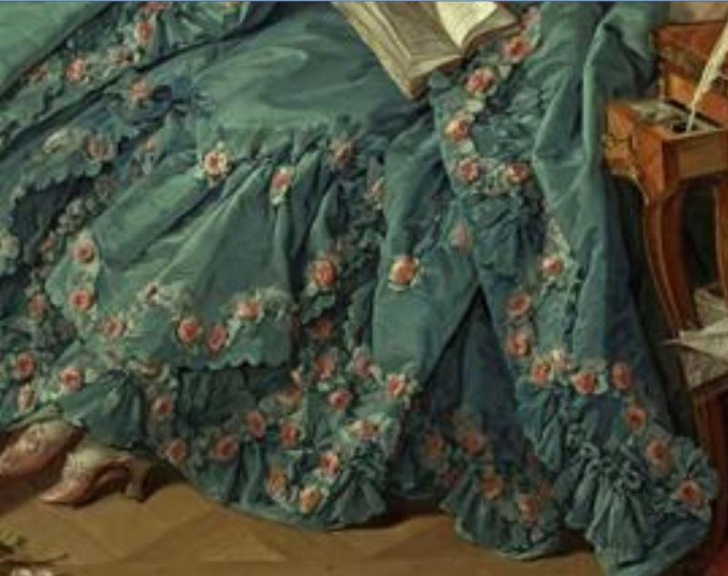 Héritage de Louis XIV dans l'histoire de la mode & textiles 32110