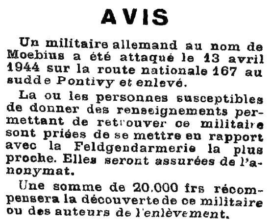 Kampfgruppe Heintz en Bretagne (avril-mai 1944) Avenir10