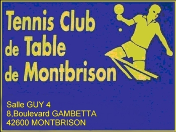 Site du TCTM - Tennis Club de Table de Montbrison