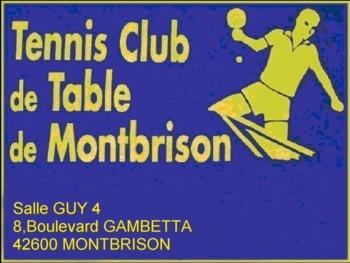 Site du TCTM - Tennis Club de Table de Montbrison