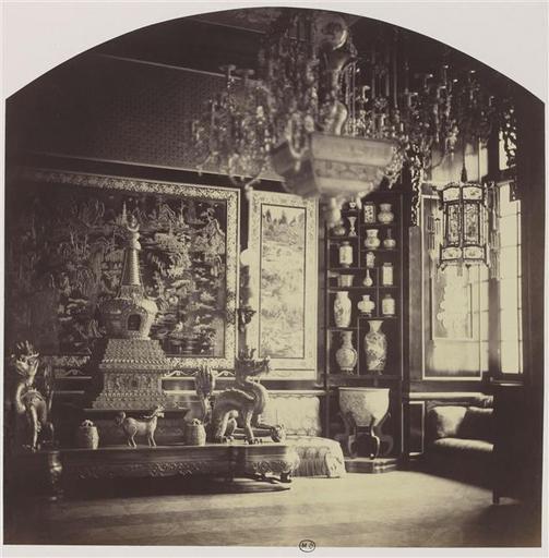 Le Pavillon Chinois de Marie-Antoinette,  à Fontainebleau  07-53610
