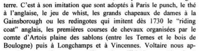 L'anglomanie à la Cour de France 111