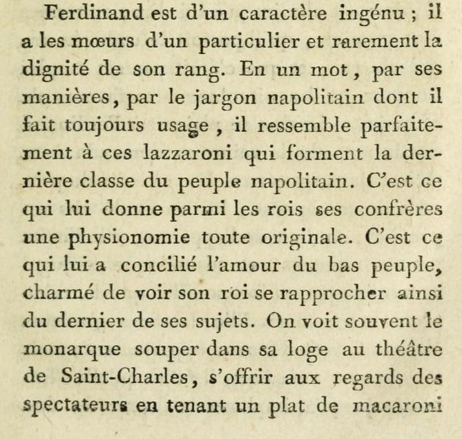 Un beau-frère de Marie-Antoinette :   Ferdinand IV , roi de Sicile 113