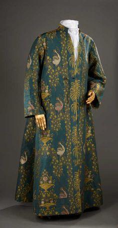 Manteau d'intérieur et robe de chambre pour les hommes au XVIIIe siècle 1229e510