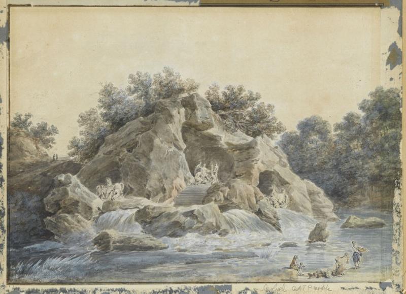 Versailles, le Bosquet des Bains d'Apollon 17881211
