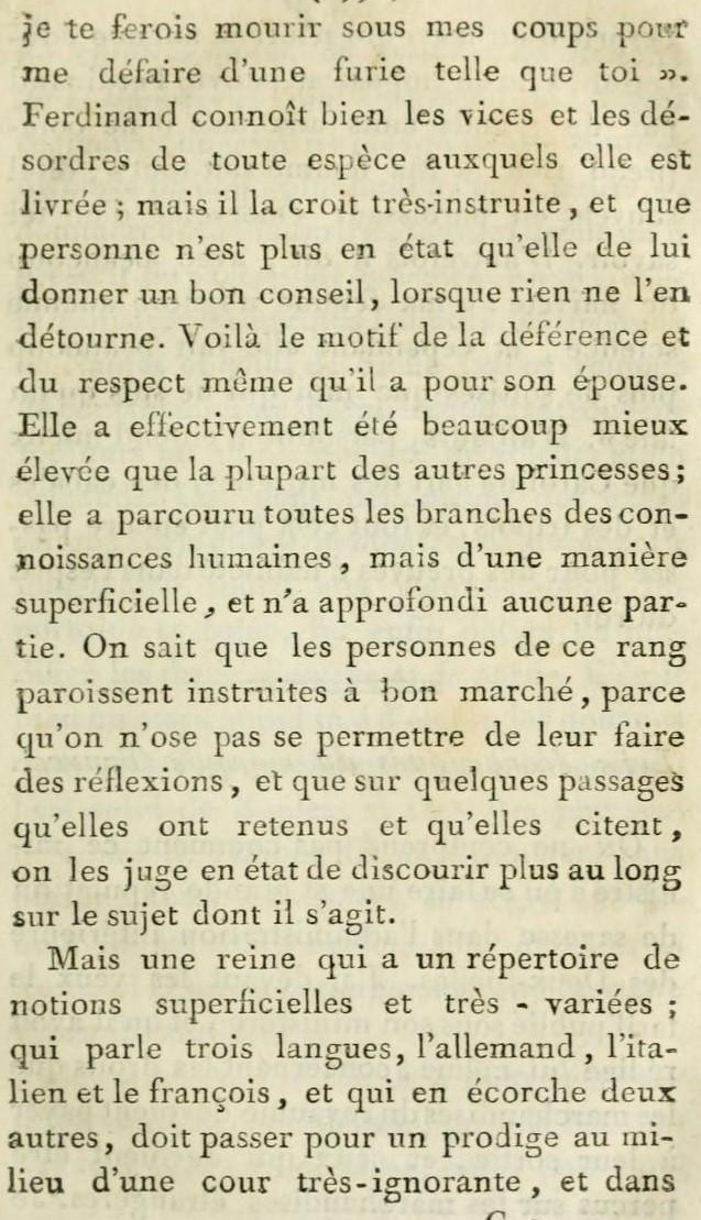 Un beau-frère de Marie-Antoinette :   Ferdinand IV , roi de Sicile 216