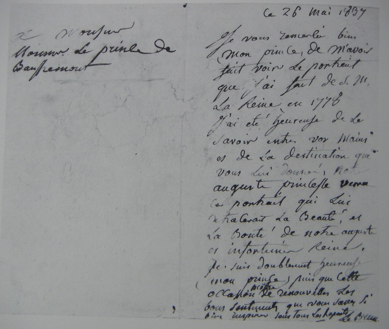 Signature d'Elisabeth Vigée Le Brun 22170710