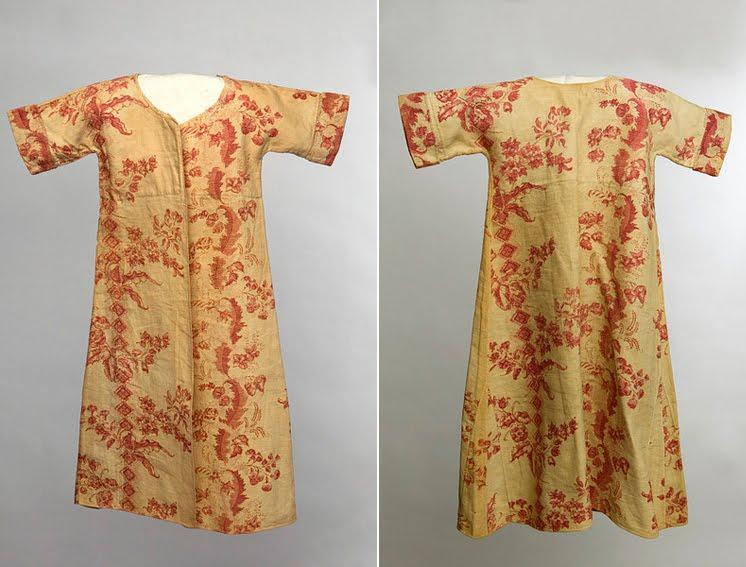 Manteau d'intérieur et robe de chambre pour les hommes au XVIIIe siècle 45lesp10