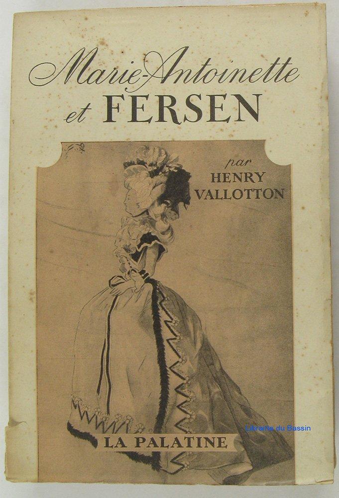 Marie-Antoinette et Fersen, de Henry Vallotton 61psft10