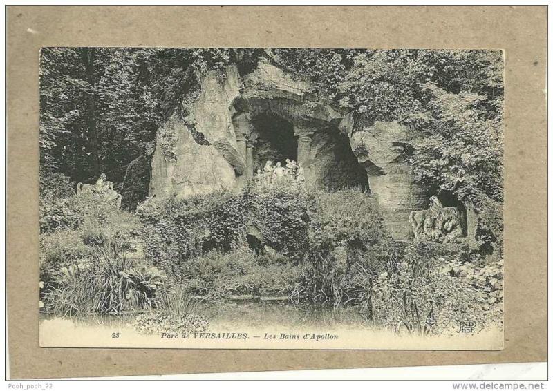 Versailles, le Bosquet des Bains d'Apollon 660_0010
