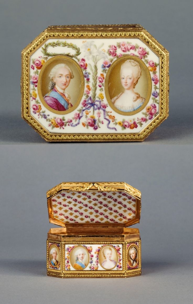 Portraits de Marie-Antoinette sur les boites et tabatières 6ecc6110