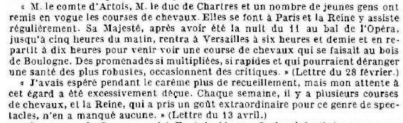 Marie-Antoinette et les courses hippiques A11