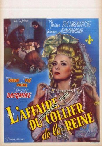 Film : L'affaire du collier, de Marcel Lherbier Aff10_10