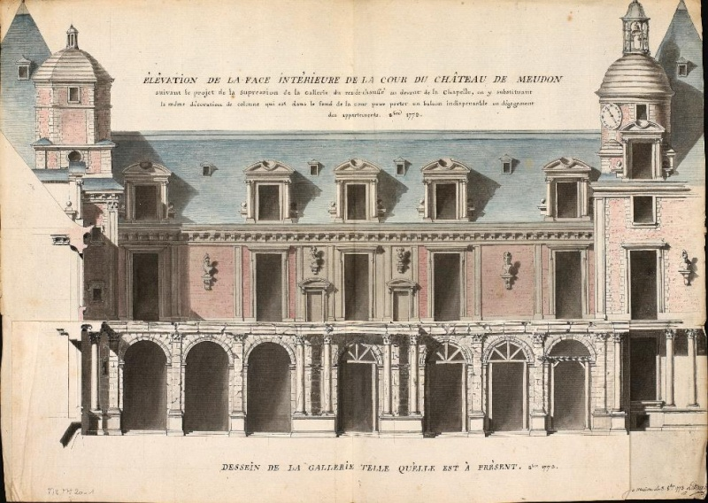 Meudon - Le château de Meudon Aile_o10