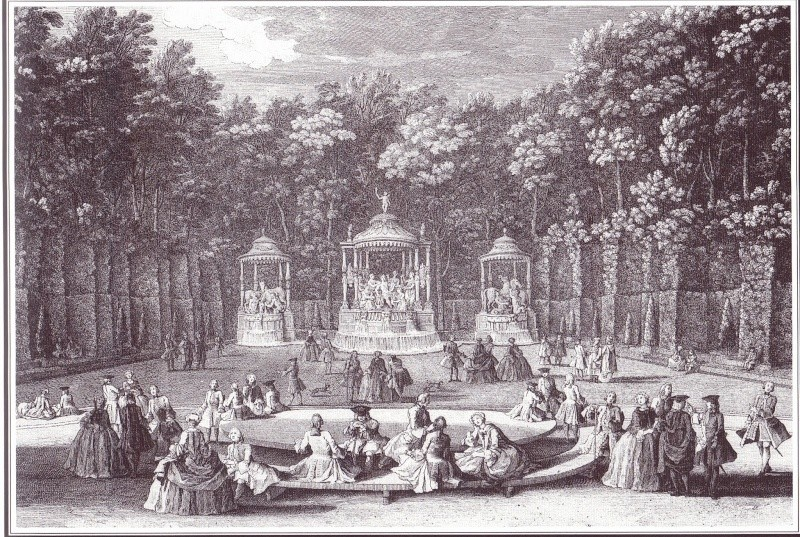 Versailles, le Bosquet des Bains d'Apollon Apollo10