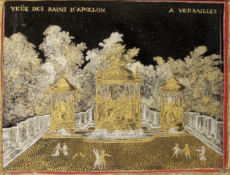Versailles, le Bosquet des Bains d'Apollon Bains_10