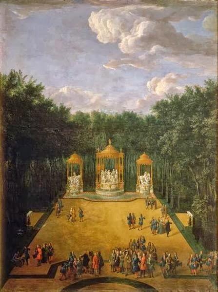 Versailles, le Bosquet des Bains d'Apollon Bains_11
