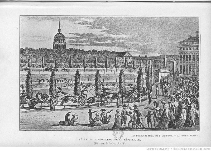 Marie-Antoinette et les courses hippiques Bpt6k311