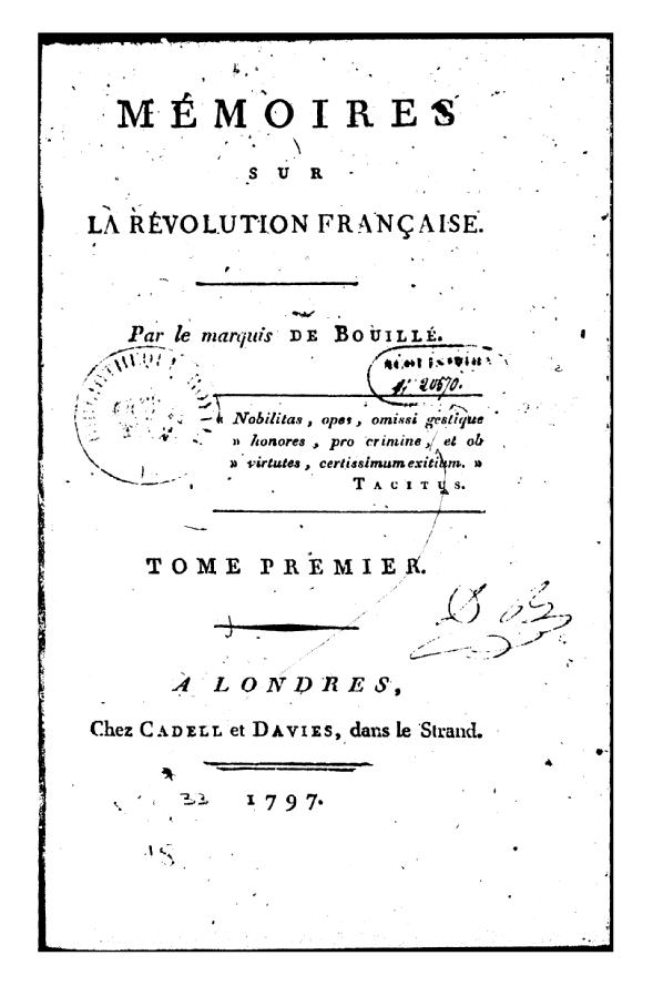 Le marquis de Bouillé Bpt6k411
