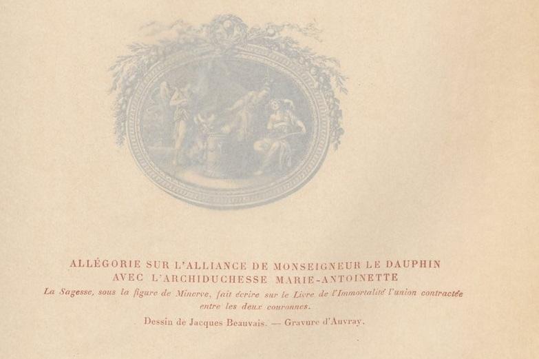 Le mariage de Louis XVI et Marie-Antoinette  - Page 9 Bpt6k627