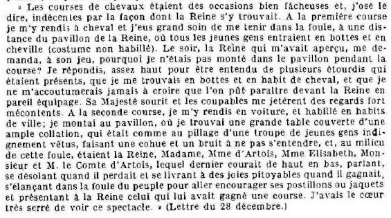 Marie-Antoinette et les courses hippiques C10
