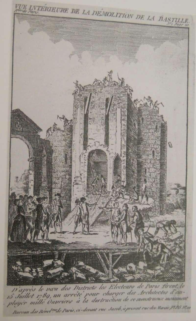 La prison forteresse de la Bastille et sa démolition - Page 3 Carnav11
