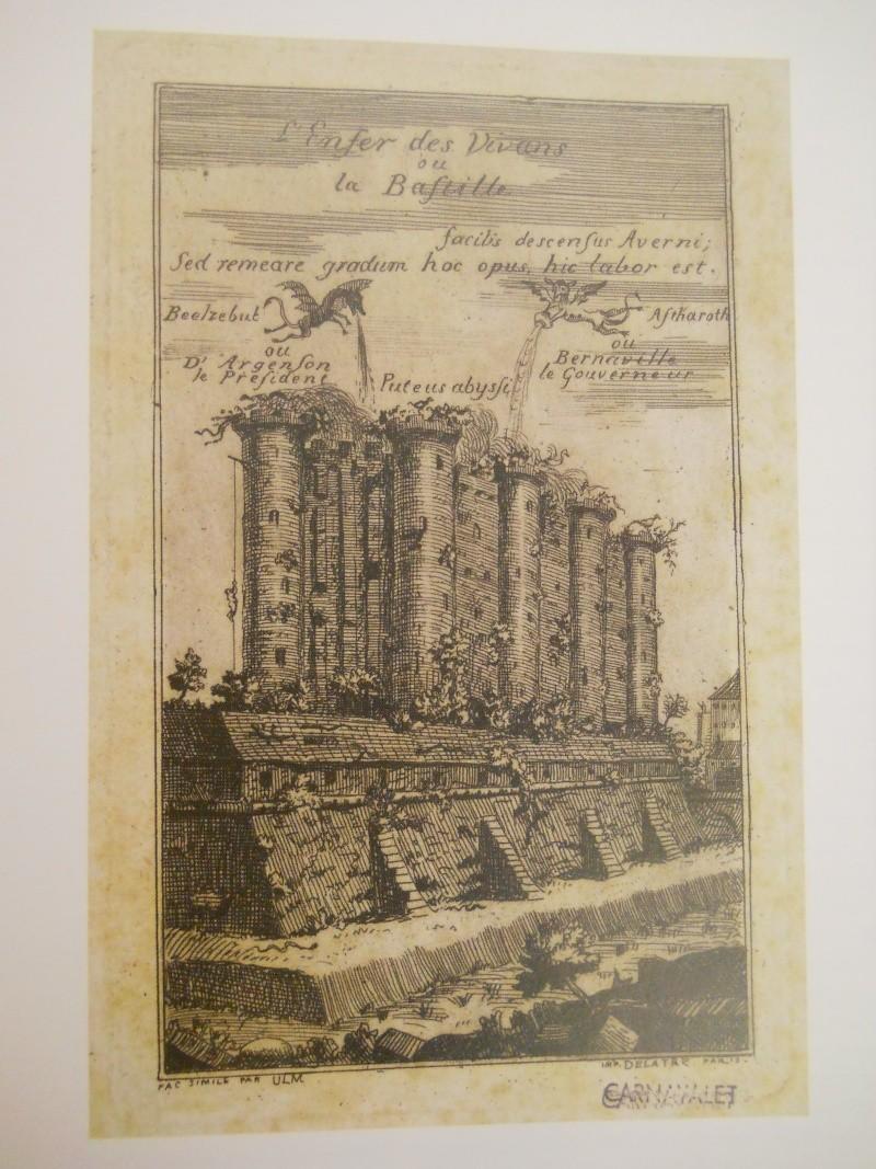 La prison forteresse de la Bastille et sa démolition - Page 3 Carnav13
