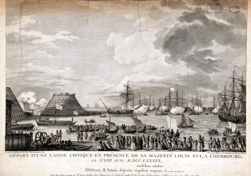 Le voyage de Louis XVI en Normandie Cherbo10