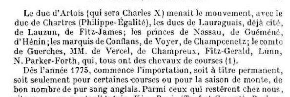 Marie-Antoinette et les courses hippiques Course10