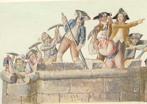 La prison forteresse de la Bastille et sa démolition - Page 3 Demoli10