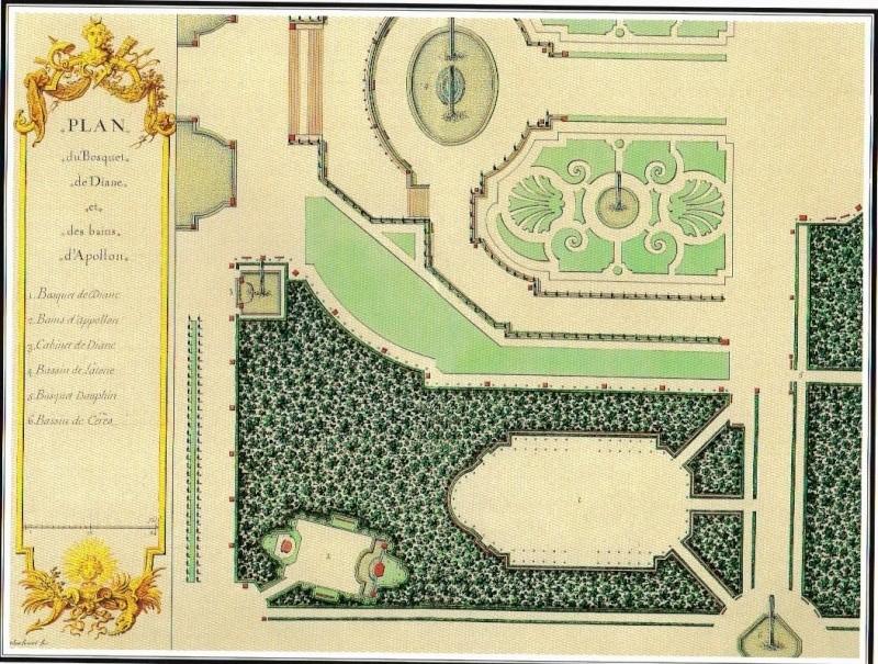 Versailles, le Bosquet des Bains d'Apollon Diane_10